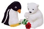 Penguin Polar Bear Rose
