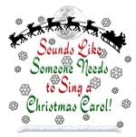 Christmas Carol Elf Original!