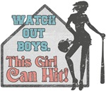 Watch Out Boys - This Girl Can Hit!