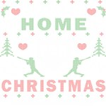I'll be Home Baseball Ugly Christmas Sweater