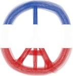 Pray for Paris Peace Paint