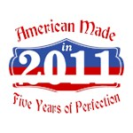 American Made in 2011 5th Birthday Patriotic