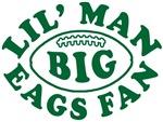 Lil' Man Big Eags Fan