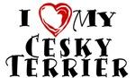 I Heart My Cesky Terrier