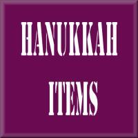 Hanukkah gifts and items
