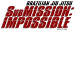 SubMission Impossible jiu jitsu t-shirts