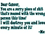 Letter To Cancer