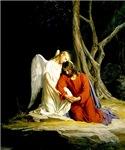 Jesus and Angel