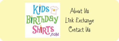 Kids Birthday Shirts Company Info