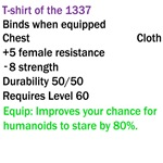 T-shirt Of The 1337