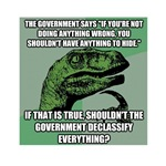 Philosoraptor on the NSA