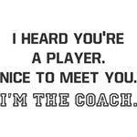 Player Meet Coach