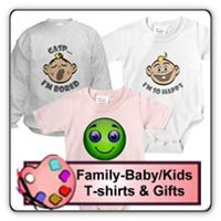 Family/Baby/Kids T-shirts & Gifts