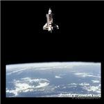 Challenger in Orbit