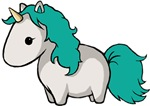 Teal Unicorn