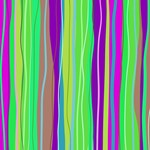 Colorful Abstract Stripes Pattern