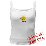 Click here for<br>PFLAG Logo Sleeveless Shirts