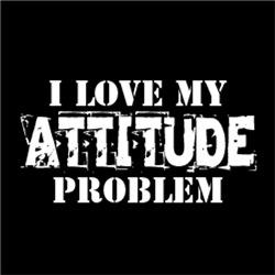 I Love My Attitude Problem