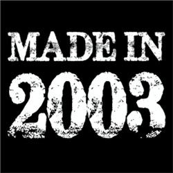 Made In 2003 BIRTHDAY Gift Year of Birth