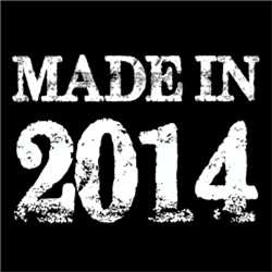 Made In 2014 BIRTHDAY Gift Year of Birth
