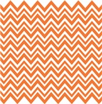 Orange Zigzag Pattern