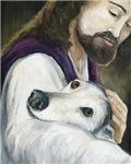 Greyhound and Jesus