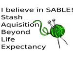 Knitting:I Believe In SABLE
