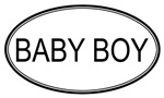 Oval: <strong>Baby</strong> <strong>Boy</strong>