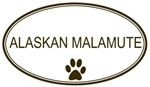 Oval <strong>Alaskan</strong> <strong>Malamute</strong>