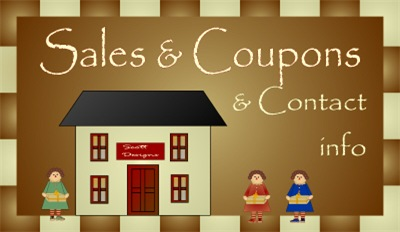 Sales, Coupons And Contact Info