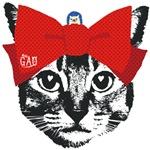 Nobigao Ribbon Cat