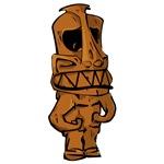 Tonga Tiki | Polynesian Exotic Tiki Head T-shirts