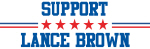Support LANCE BROWN