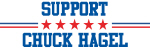 Support CHUCK HAGEL