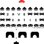 Save Katie/Xenu Kills Space Invaders