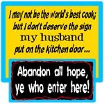 Kitchen Door Note