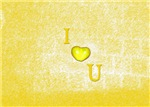 I Heart (Love) You Yellow