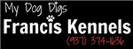 My Dog Digs Francis Kennels! [Black]