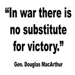 No Substitute for Victory Quote
