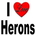 I Love Herons