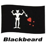 Pirate Flag - Blackbeard