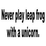 No Unicorn Leap Frog