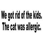 Cat Allergy Kid Humor