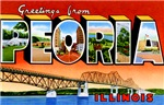 Peoria Illinois Greetings