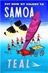 Samoa Travel Poster 1