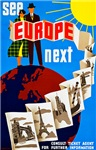 Europe Travel Poster 1