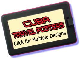 Cuba Travel Posters