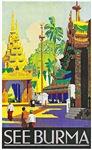 Burma Travel Poster 1