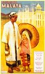 Malaya Travel Poster 3