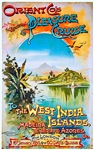 West India Islands Travel Poster 1